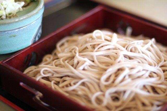草津グルメお蕎麦