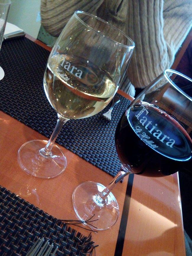 西武特別食堂 Hotel Okura ワインを取り合えず赤白で
