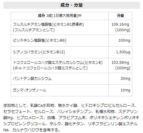 リョウシンJV錠の有効成分