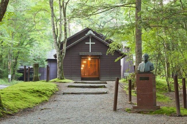 軽井沢ショー記念礼拝堂の画像