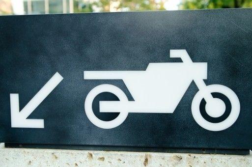 軽井沢,駐車場,バイク