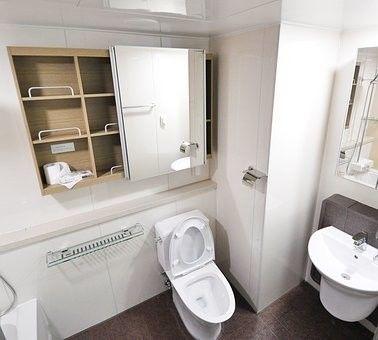 風水,トイレ,鏡
